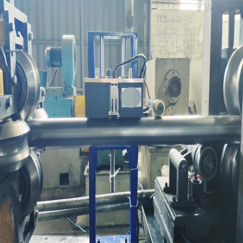 On-line eddy current testing system for straight welded pipe EFH1002