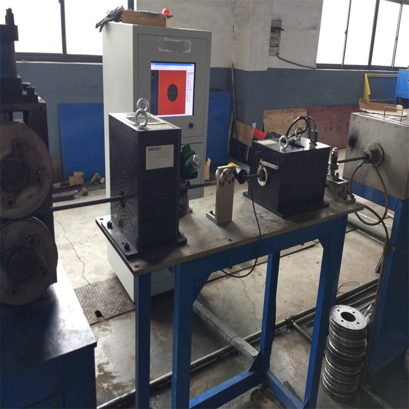 On-line eddy current testing system for spring steel wire ECH7002