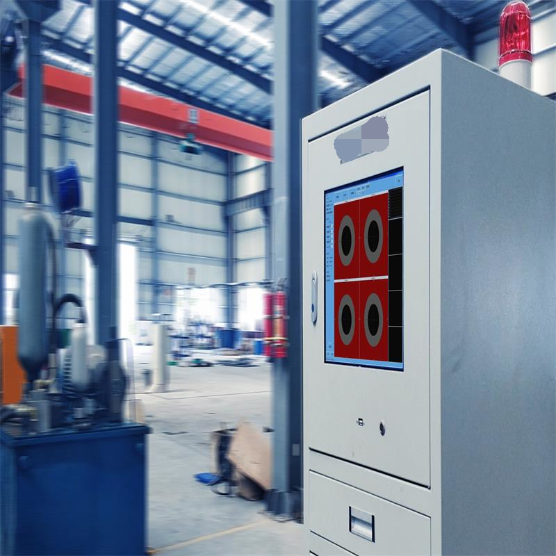 On-line eddy current testing system for Combined drawing machine ECN8002